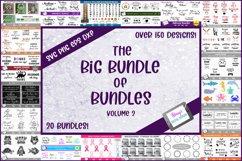 The Big Bundle of Bundles Vol. 2 - 150 SVGs from 20 bundles Product Image 1