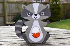 Raccoon Easter egg holder design SVG / DXF / EPS Product Image 3