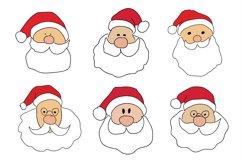 Christmas SVG Santa Claus Pack Product Image 4