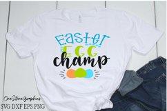 Easter svg,easter egg champ svg, Easter design svg Product Image 1