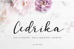 Cedrika script Product Image 1
