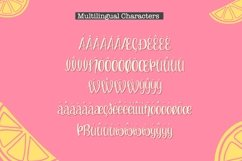 Lemon Blissed- Smooth Cut-Friendly Handwritten Font Product Image 3