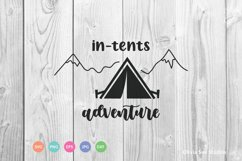 In Tents Adventure SVG Cut File Product Image 1
