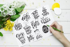 Easter quotes. Spring lettering set Product Image 3