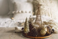 Happy New Years. Christmas background with fir tree Product Image 1