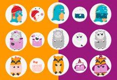 Character creator - Fall holidays Product Image 5