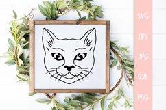 Sweet Cat Svg, Cat Cut File Product Image 3