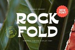 Rockfold - Powerful Vintage Display Font Product Image 1