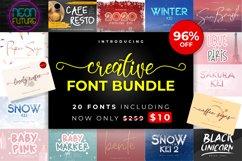 Creative Font Bundle Product Image 1