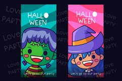 Halloween party Handwritten - cute kid font Kawaii style! Product Image 3