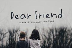 Dear Friend Hand Drawn Font Product Image 1