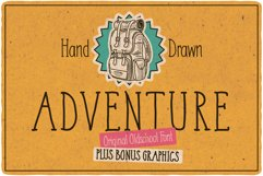 Adventure Typeface plus bonus graphics Product Image 1
