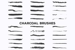 Pencil Charcoal Illustrator Brushes Product Image 2