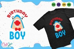 Birthday boy svg, shark face cut files for crafter Product Image 1