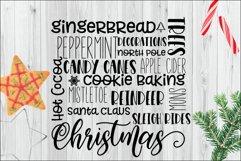 Christmas Subway Art SVG Product Image 1