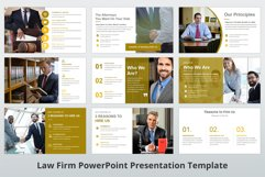 Law Firm PowerPoint Presentation Template Product Image 5