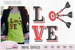 I love darts, darts board, Dart game, dart quote, bulls eye Product Image 1