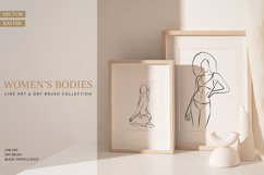 Women's Bodies Lineart Collection Product Image 1