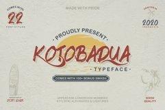 Kotoba Dua - 22 Font styles and 150 Swashes Product Image 1