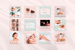 """Instagram posts & quotes, Canva Template """"BEAUTY SILK"""" Product Image 3"""