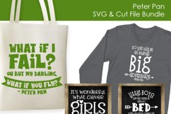 Peter Pan Quotes - SVG and Cut Files for Crafters Product Image 3