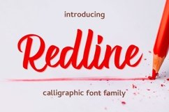Web Font Redline Product Image 1
