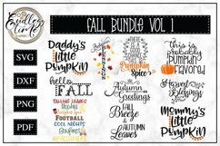 An Exceptionally Huge Fall Bundle | 6 Bundles In 1| 76 SVGs Product Image 5