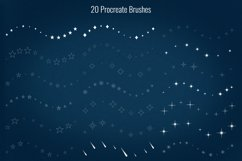 50 Stars and Sparkles Stamps and Brushes for Procreate Product Image 4