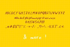 Nymera - A nice and bold handwritten script font ! Product Image 2