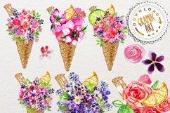 Ice cream Bouquet Clip Art Product Image 3