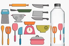 Cooking and Baking Utensils Illustrations Bundle Product Image 2