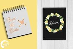 Summertime Wedding graphics, clipart, illustration AMB-1309 Product Image 3