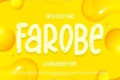 Farobe   A Fun Rough Type Product Image 1