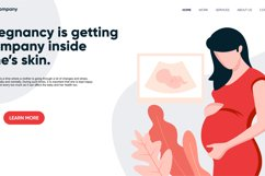 pregnancy / maternity landing page Product Image 3
