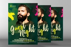 Live Guest Dj Night Flyer Product Image 2