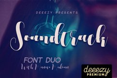 Soundtrack Font Duo Product Image 4
