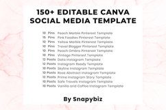 Elegant Canva Editable Social Media Template Bundle Product Image 2