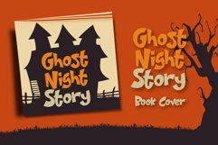 Night House - A Fun Display Font Product Image 5