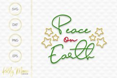 Peace on Earth SVG File Product Image 2