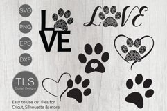 Dog Paw Print SVG Product Image 1