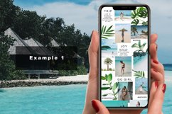 """Instagram Puzzle Feed Template - """"The Trip"""" Product Image 4"""