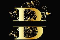 Split Letters A-Z SVG Vectors Svg Dxf Png Jpg Eps Product Image 2