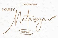 Lovely Natasya - Duo font Product Image 1