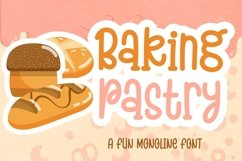 Baking Pastry Product Image 1