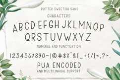 Butter Sweetish Font TRIO and Extras Product Image 7