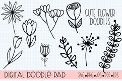 Floral Doodle Bundle Silhouette and Cricut Product Image 4