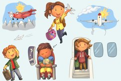 Airplane Travel Clip Art Collection Product Image 3