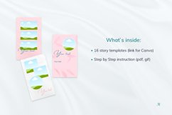 """Beauty Pink Stories, Instagram Canva Tempates """"ROSY"""" Product Image 5"""