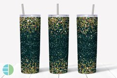 Skinny Tumbler Sublimation Design - Confetti - Customizable Product Image 2