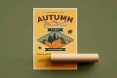 Retro Autumn Festival- Flyer Poster Product Image 2
